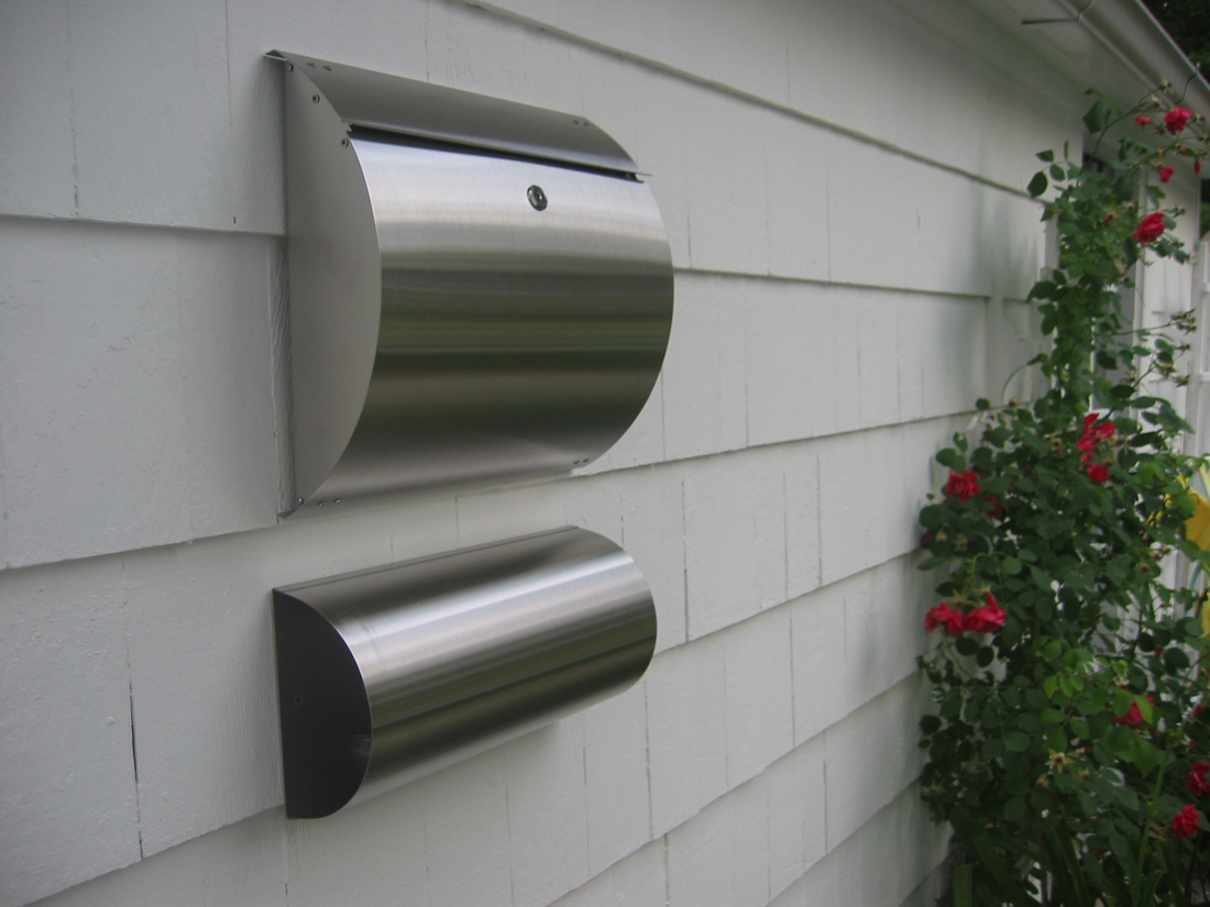 European Home Curb Appeal Stainless Steel Modern