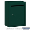 Salsbury 2240GP Standard Letter Box - Surface Mounted - Green - Private Access
