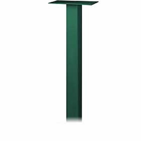 Salsbury 4385GRN Standard Pedestal In Ground Mounted For Roadside Mailbox Green