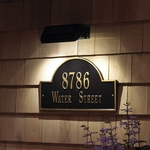 Whitehall Illuminated & Reflective Address Plaques