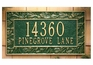Standard Size Pinecone Wall Plaque - (1 or 2 Lines)