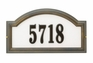 Standard Size Providence Arch Reflective Wall or Lawn Traffic Sign - (1 Line)