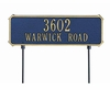 Standard Size Two - Sided Rectangle Lawn Sign - (1 or 2 Lines)
