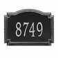 Standard Size Williamsburg Wall or Lawn Plaque - (1 or 2 lines)
