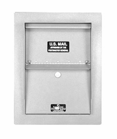 Standard Stainless Wall Mount Letter Locker Trim Kit