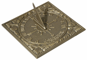 Whitehall Sunny Hours Sundial - French Bronze