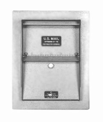 Super Stainless Wall Mount Letter Locker Trim Kit
