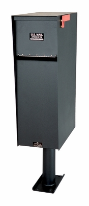 Supreme Aluminum Rear Access Letter Locker