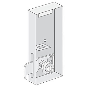 Salsbury 3373 Tenant Lock For Outdoor Parcel Locker With (3) Keys