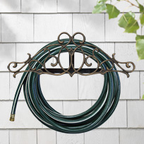 Whitehall Tendril Hose Holder - Copper Verdi