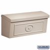 Salsbury 4560BGE Townhouse Mailbox Surface Mounted Beige