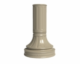 Traditional Column Pedestal Cover For Cluster Box Units - Long