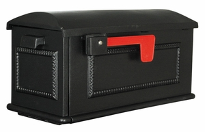 Traditional Curbside Mailbox with Post Option