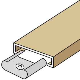 Salsbury 2113 Trim Kit For Up To 3 Columns Of Americana Mailboxes Beige