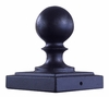 TSB11 Post Toppers - Ball Topper- Fits 4 inch Square Poles