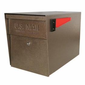 Ultimate High Security Locking Mailbox in Bronze Copper