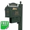 Whitehall Ultimate Mailbox Package in Green