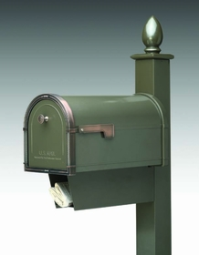 Newspaper Receptacle (For all units except the Grande) for Architectural Mailboxes