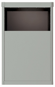 Vario Depot Mail Kiosk - 4 Door High for Double Column 4C Mailbox
