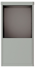 Vario Depot Mail Kiosk - 9 Door High for Double Column 4C Mailbox