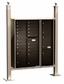Vario Express II Mail Station / Standard (4C Mailboxes sold Separately)