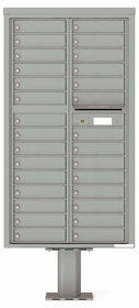 4C Pedestal Mailboxes without Parcel Lockers