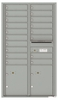 Versatile Front Loading Commercial Mailbox with 18 Tenant Doors and 2 Parcel Lockers