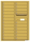 Versatile Front Loading Commercial Mailbox with 22 Tenant Doors and Outgoing Mail Slot - Double Column