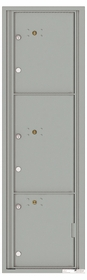 Versatile Front Loading Commercial Mailbox with 3 Parcel Lockers
