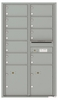 Versatile Front Loading Commercial Mailbox with 9 Tenant Doors and 2 Parcel Lockers