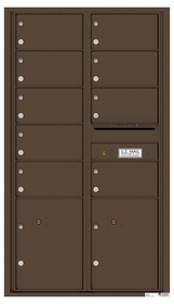 15 Door High Rear Loading 4C Mailboxes