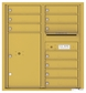 Versatile Front Loading Double Column Commercial Mailbox with 10 Tenant Doors and 1 Parcel Locker