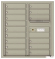 Versatile Front Loading Double Column Commercial Mailbox with 15 Tenant Doors and Outgoing Mail Slot