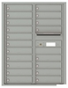 Versatile Front Loading Double Column Commercial Mailbox with 19 Tenant Doors and Outgoing Mail Slot