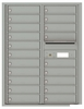 Versatile Front Loading Double Column Commercial Mailbox with 20 Tenant Doors and Outgoing Mail Slot