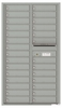Versatile Front Loading Double Column Commercial Mailbox with 28 Tenant Doors