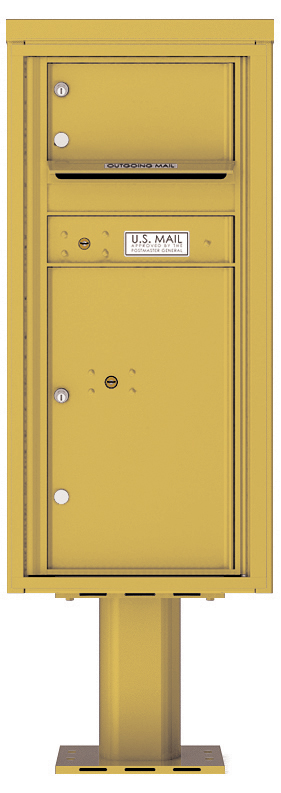 Front loading 4c pedestal mailbox 4cads 01 p auth florence for Auth florence