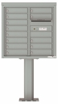 8 Doors High 4C Pedestal Mailboxes