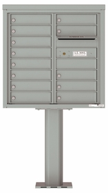 4C Pedestal Mailboxes 8 Doors High