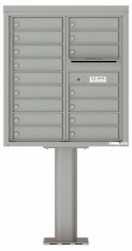 4C Pedestal Mailboxes 15 to 16 Doors
