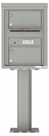 4C Pedestal Mailboxes 1 to 2 Doors