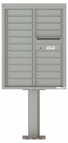 4C Pedestal Mailboxes 19 to 20 Doors