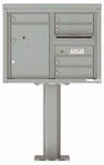 4C Pedestal Mailboxes with Parcel Lockers 5 to 6 Doors