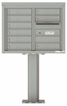 4C Pedestal Mailboxes 6 Doors High