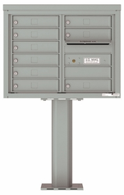 4C Pedestal Mailboxes 9 to 10 Doors