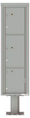 Versatile Front Loading Pedestal Mounted Extra-Large Parcel Lockers - 3 Units