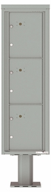 Versatile Front Loading Pedestal Mounted Parcel Lockers - 3 Units