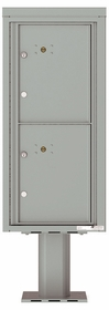 Versatile Front Loading Single Column Pedestal Mailbox Parcel Lockers