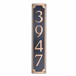 Dekorra Products 656 Large Vertical Address Plaques
