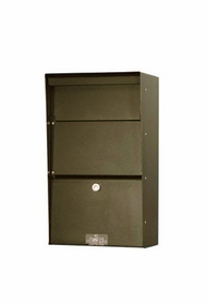 Vertical Aluminum Wall Mount Letter Locker